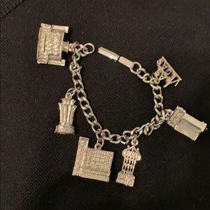 Vintage Vegas charm bracelet